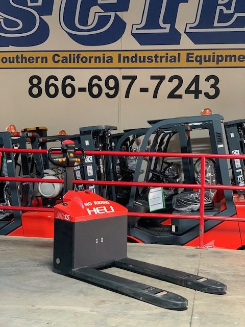 Used HELI Electric Walkie Pallet Jack